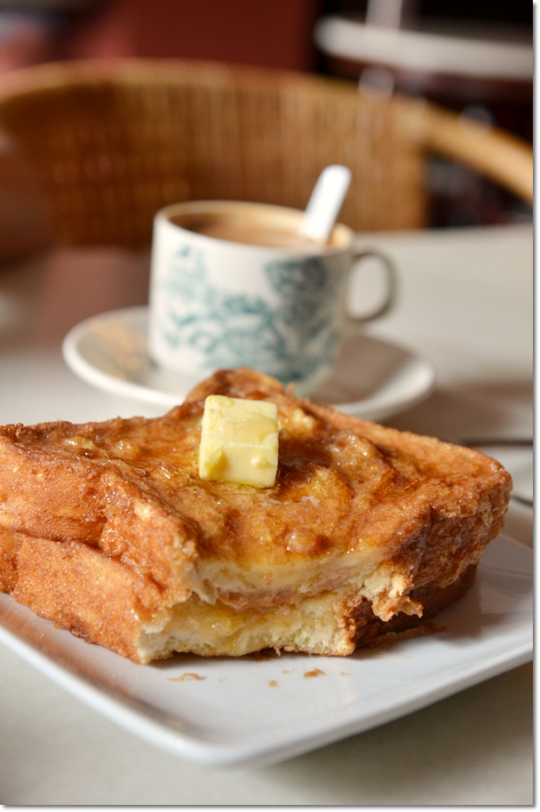French Toast & Coffee @ Old Town Kopitiam
