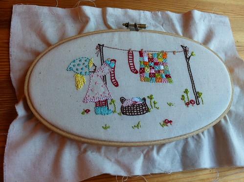 A bit of stitching
