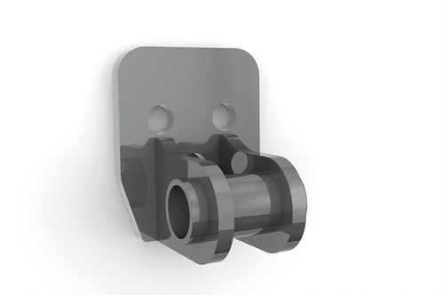 Front View trans mount
