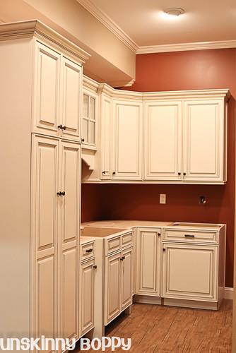 basement cabinetry