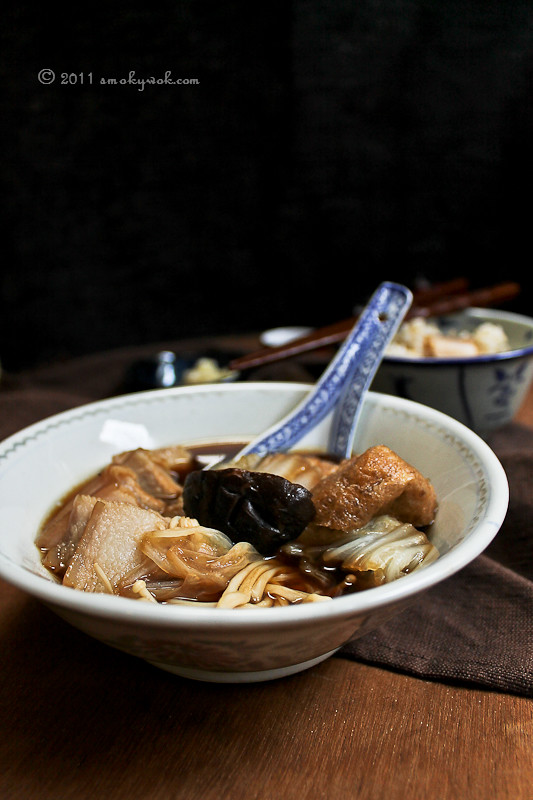 Bak Kut Teh - Chinese Herbal Broth with Pork Ribs 肉骨茶
