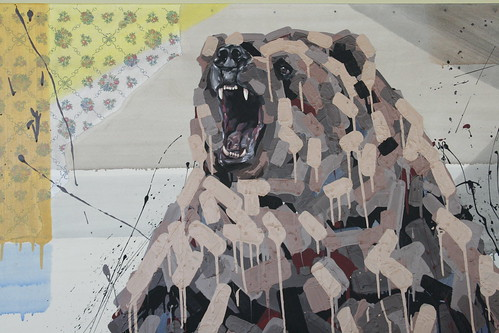Urban Art: Bear Painting
