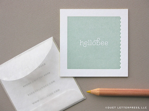 hellobee business cards