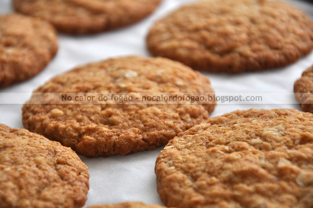 ANZAC Biscuits na assadeira