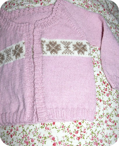 Little pink cardigan by lille-ursus