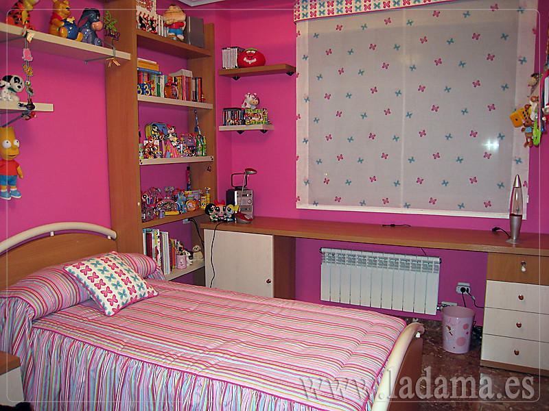 Fotograf as de colchas y edredones confeccionados a la - Cortinas para dormitorio juvenil ...
