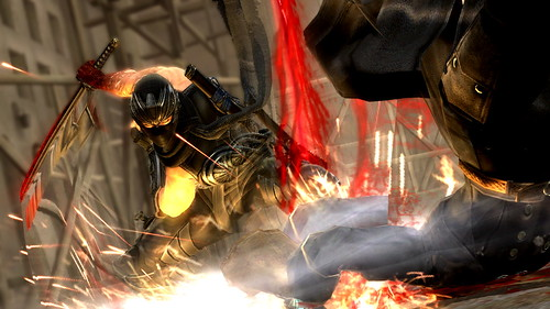 PS Vita: Ninja Gaiden 3 - Combat