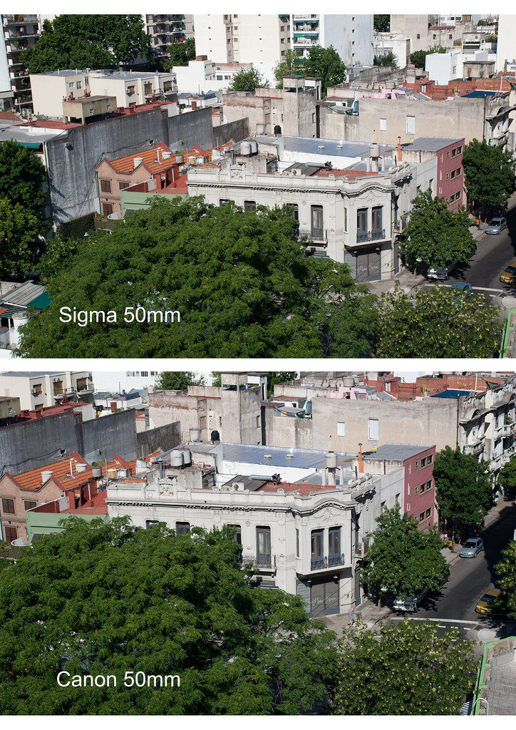 sigma vs canon 50mm