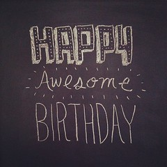 Happy Awesome Birthday @brenton_clarke