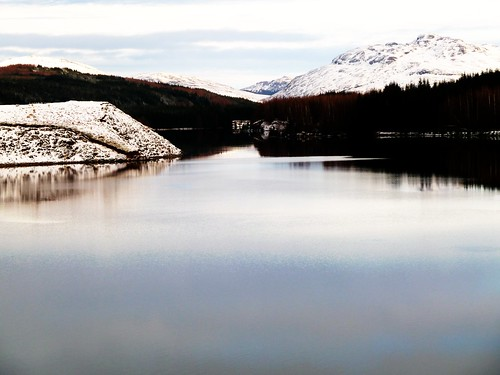 Loch Laggan in Winter