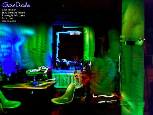 PLOTS Thermal Flashlight: living room