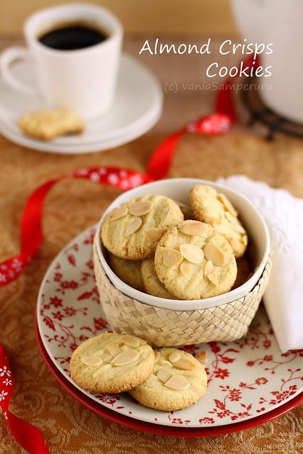 Almond Crisps Cookies