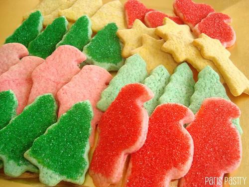 彩色的圣诞香料饼干