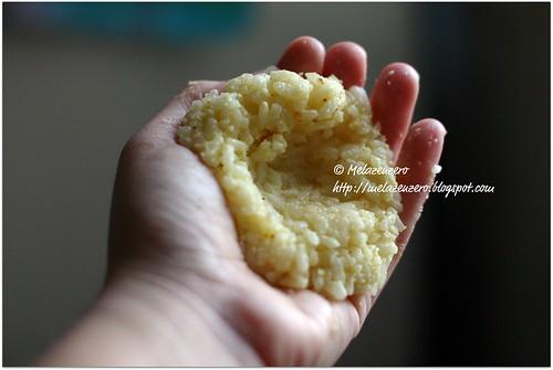 preparazione delle arancine