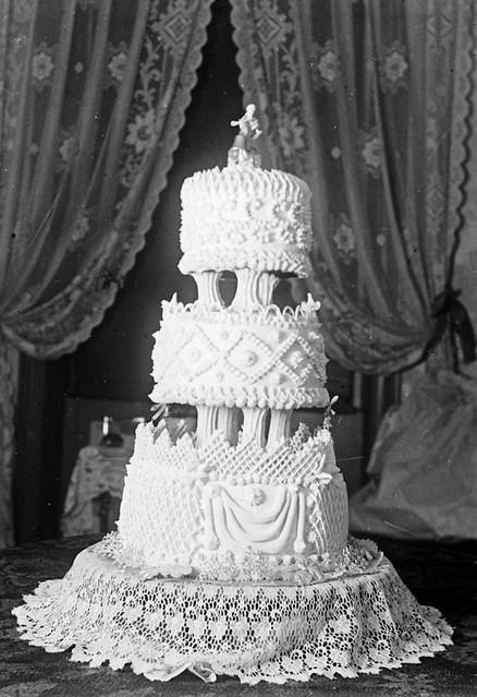 Vintage Wedding Cake Chandelier