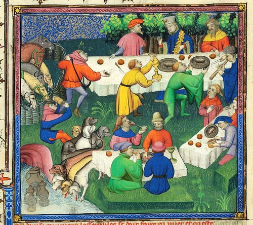 008-Le Livre de la chasse-1407- Gaston Phoebus- MS M. 1044 – fol 58v-detalle-© The Morgan Library & Museum