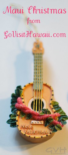 Ukulele ornament