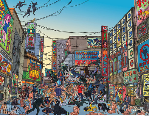 300th Issue of Wolverine Geof Darrow