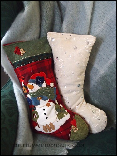 Recycled Stocking Pillows