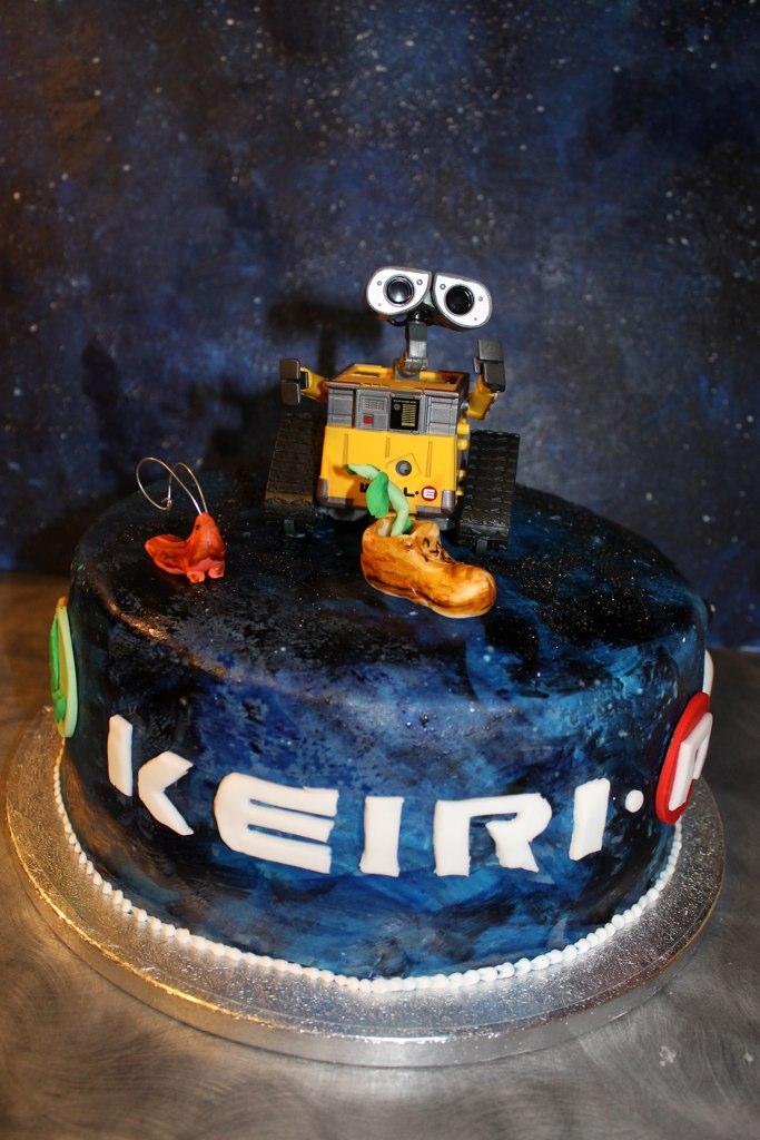 Keirins Wall E 3rd Birthday Cake