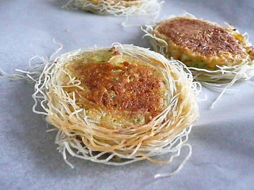 Kataifi Pastry Corn Fritters