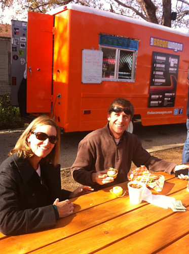Fort Worth Food Truck Park Holiday Event