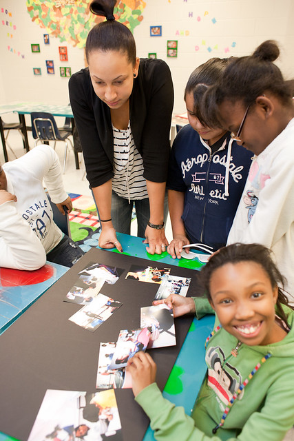 Afterschool Program with Young Audiences + Boys & Girls Club