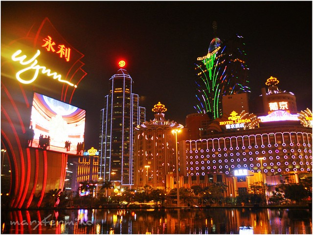 Wynn & Grand Lisboa Night Lights