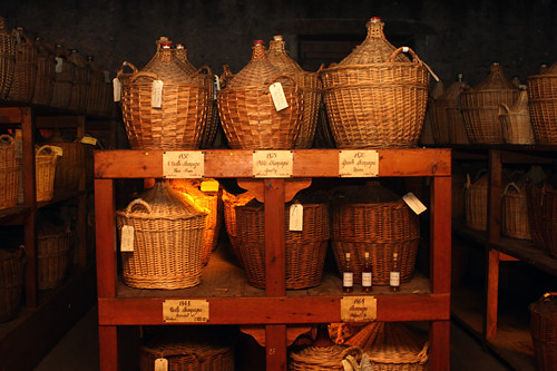 Martell cognac cellar