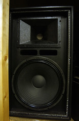 studio monitor(1.0), loudspeaker(1.0), subwoofer(1.0), electronic device(1.0), stereophonic sound(1.0), electronics(1.0),