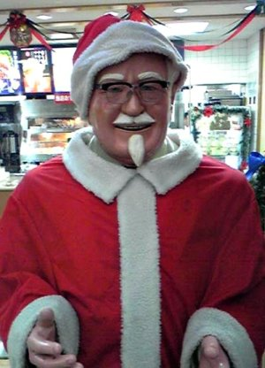 Japan's Jolly Old Elf: Colonel Sanders