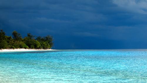 blue sea sky azul island mar paradise day cloudy céu east timor leste ilha jaco paraíso easttimor timorleste