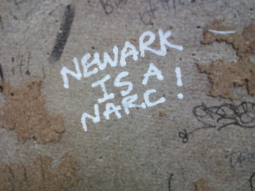NEWARK IS A NARC!