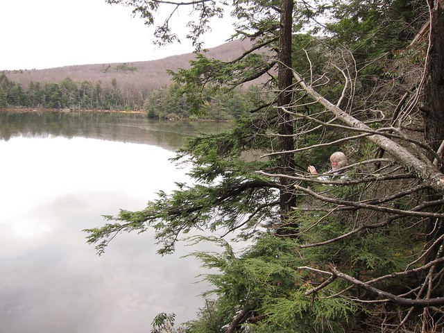 Dave shooting on Guilder Pond