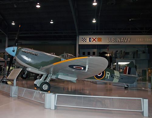 Supermarine Spitfire IX (MJ772) (N8R) (G-AVAV)