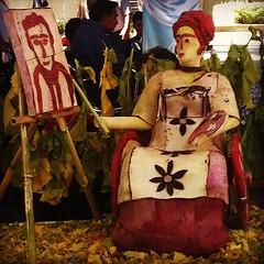 Frida Khalo (Noche de Rábanos) #oaxacatoday