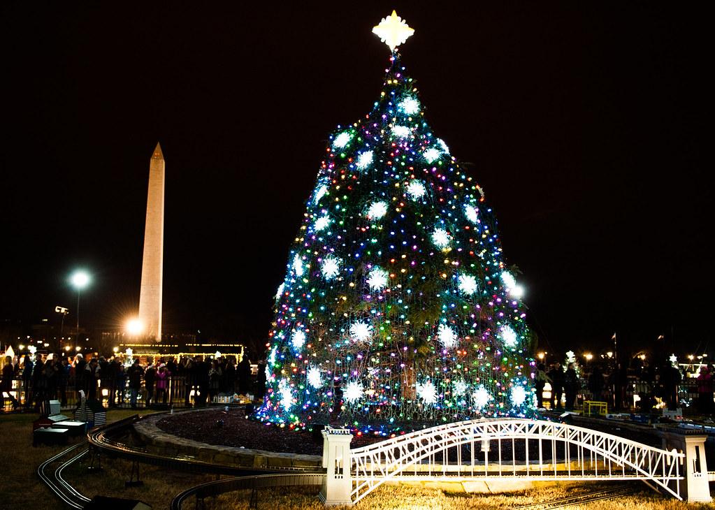 Weihnachtsbaum Regierungsbezirk Washington (2011) (Quelle: bigbirdz, flickr.com, CC BY 2.0)