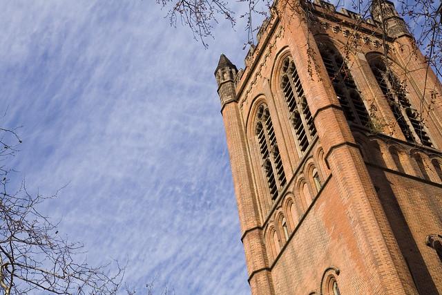365.122 Beautiful sky at General Seminary
