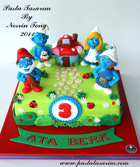 SUMURFS CAKE- ATA BERK BIRTH