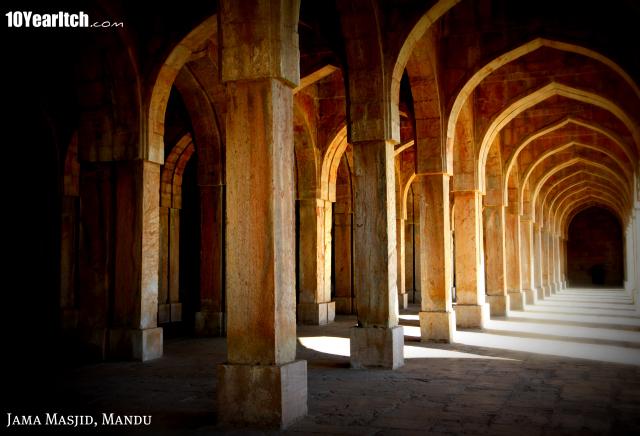 jama masjid mandu