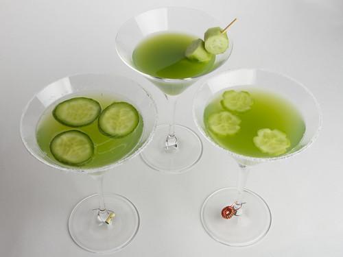 Cucumber Martinis 18