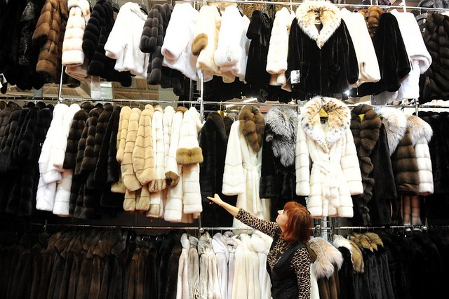 Fur in Moscow - via nytimes.com