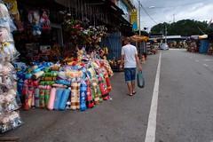 Lone shopper