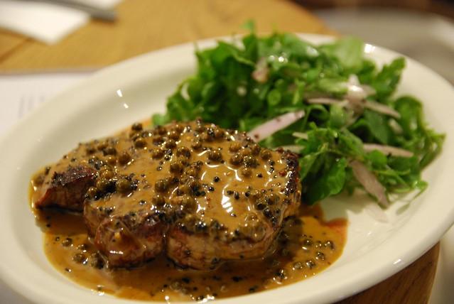 Steak Frites au Poivre - Depot de ...