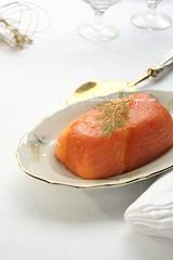 Terrina di salmone affumicato ai pistacchi e canditi