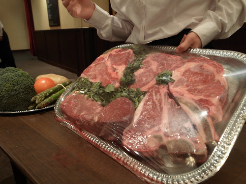 2011跨年夜,Morton's steakhouse