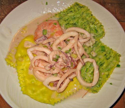 ravioli di pesce con sfoglia bicolore by fugzu