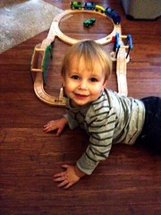 Aiden likes trains