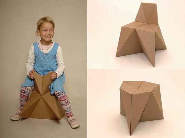 Foldschool o c mo hacer muebles de cart n diario ecologia for Muebles de carton pdf