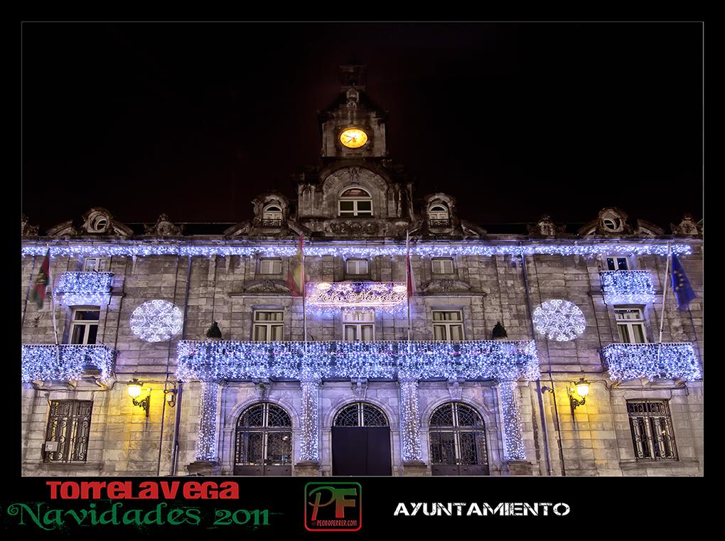 Torrelavega - Ayuntamiento  - Navidades 2011